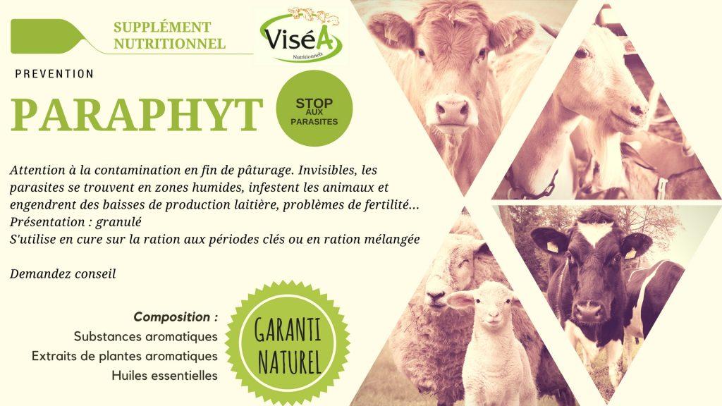 Produit commercialisé par SOREAL NUTRITION ANIMALE